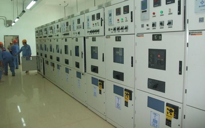 重庆高压柜安装现场